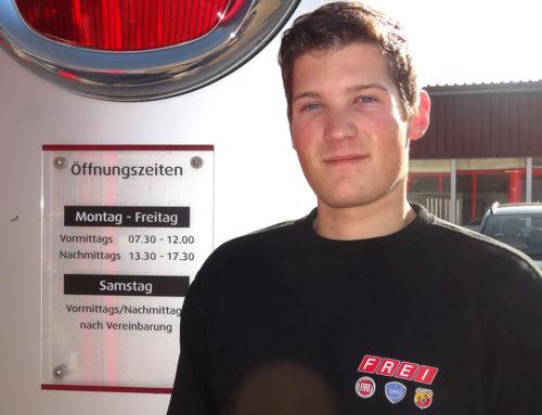 Alles Gute, Florian Reusser!