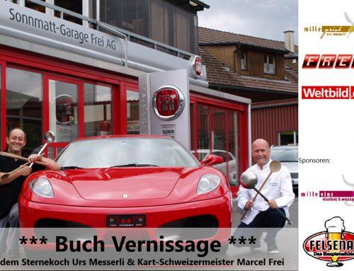 Kochbuch Vernissage: Mittwoch, 14. September 2016 | 19.00 Uhr