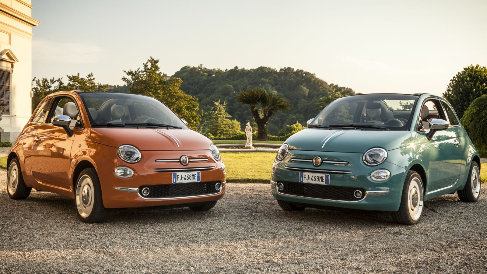60 fiat 500 60th anniversary f r die schweiz frei for Garage da 500 piedi quadrati