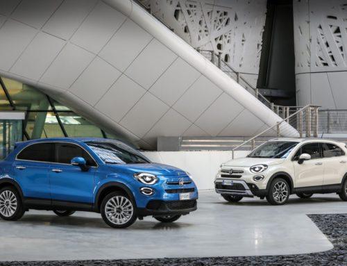 Der neue Fiat 500X mit leistungsstarkem Turbobenziner