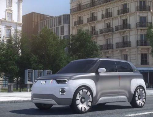 FIAT CENTOVENTI: Der PANDA ELETTRICA mit 500 km Reichweite (concept car)