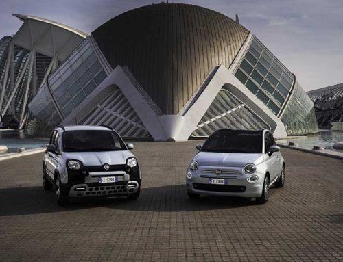 Hybrid-Versionen von Fiat 500 und Fiat Panda