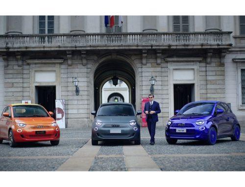 Armani, Bvlgari und Kartell gestalten drei einzigartige Fiat 500