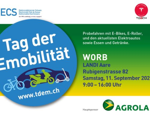 11.9.21: Tag der Emobilität bei der LANDI Aare, Worb